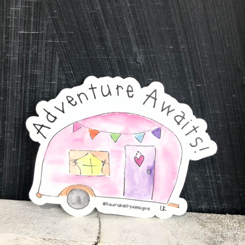 Vinyl Sticker - Adventure Awaits