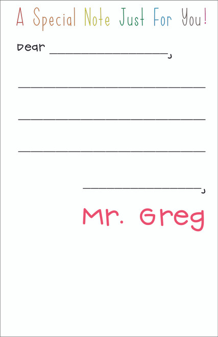 Memo Pad Set - Kid's First Notes