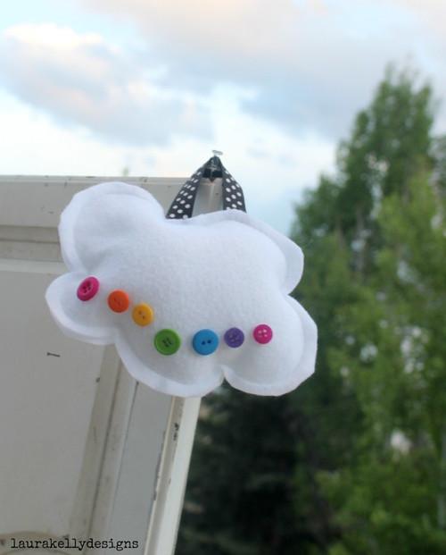 Button Cloud Pillow Kit
