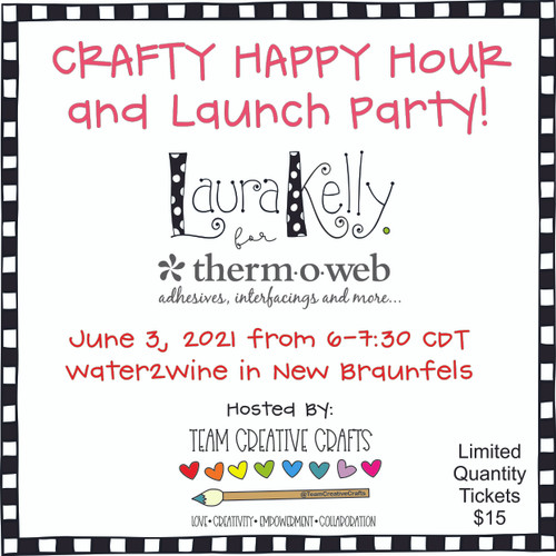 Crafty Happy Hour - Laura Kelly's Therm-O-Web Launch Party
