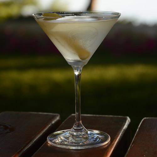 Riedel Martini- Pair, Monogrammed