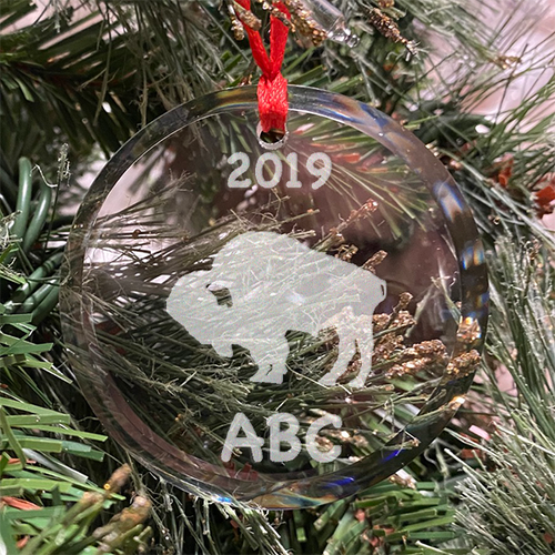 Buffalo Ornament