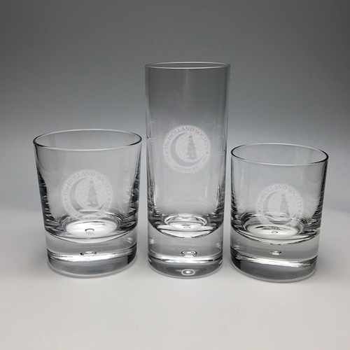 Exmoor Crystal bar glasses- Holland Society