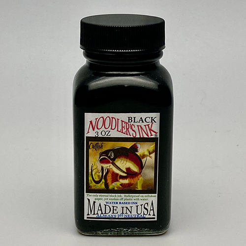Noodler's Black Fountain Pen Ink 3oz