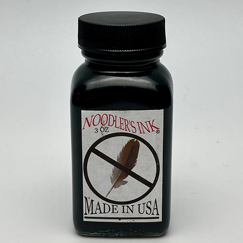 Noodler's X-Feather Black Fountain Pen Ink 3oz