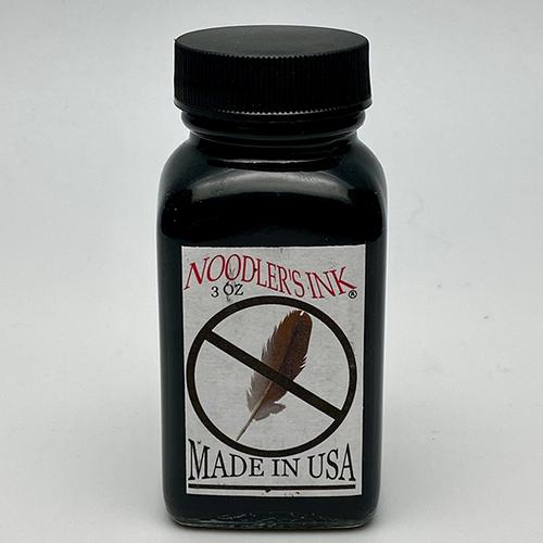 Noodler's X-Feather Black Fountain Pen Ink 3oz