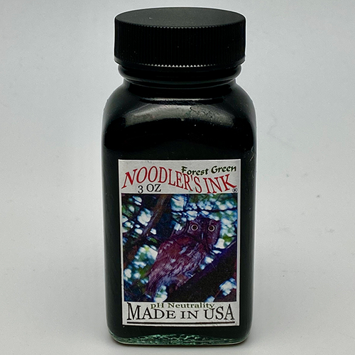 Noodler's Forest Green Fountain Pen Ink 3oz