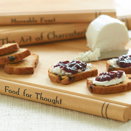 Maple Book Cheese Servers Set of 3