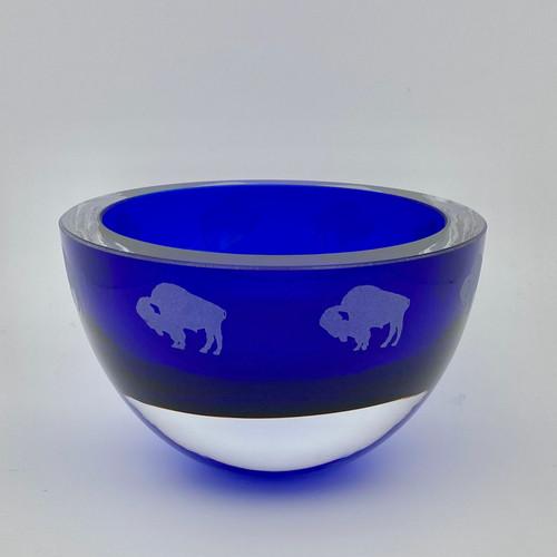 Penelope Cobalt Bowl - Buffalos