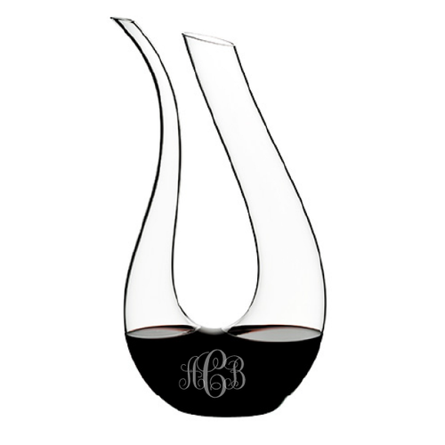 Riedel Amadeo Wine Decanter- Monogrammed