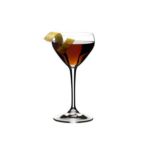 Riedel Bar Nick & Nora Glass, pair, unetched