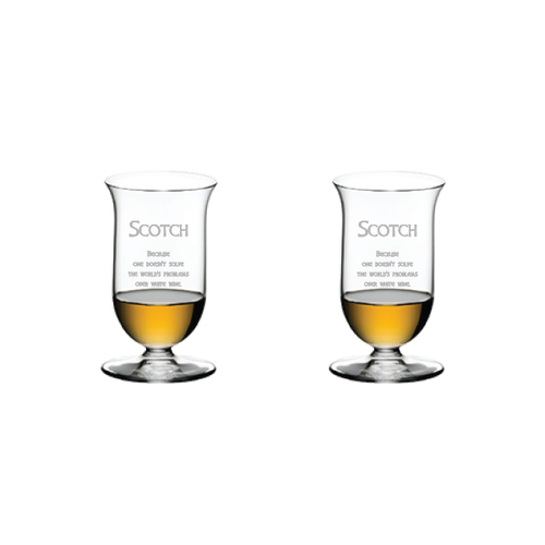 Riedel Single Malt, pair - Scotch Quote