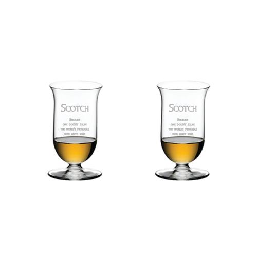 Riedel Single Malt, pair - Scotch Quote