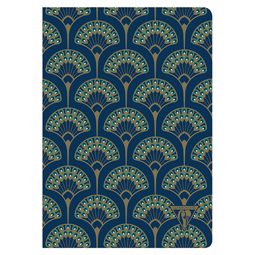 Clairefontaine Neo Deco A5 Notebook - Peacock, Lined