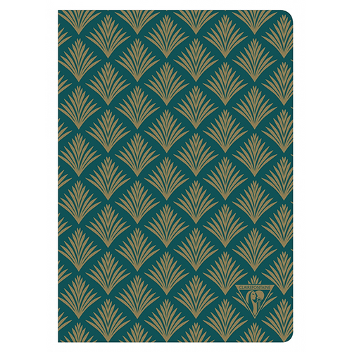 Clairefontaine Neo Deco A5 Notebook - Vegetal, Lined