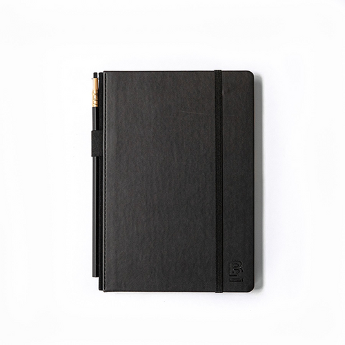 BLACKWING MEDIUM BLACKWING SLATE NOTEBOOK - DOT GRID BLACK