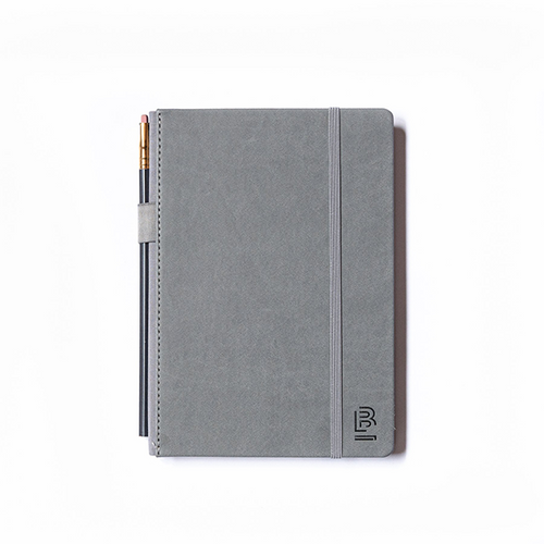BLACKWING MEDIUM BLACKWING SLATE NOTEBOOK - DOT GRID GREY