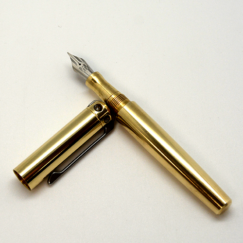 Karas Kustoms Ink v2 Fountain Pen- All Brass