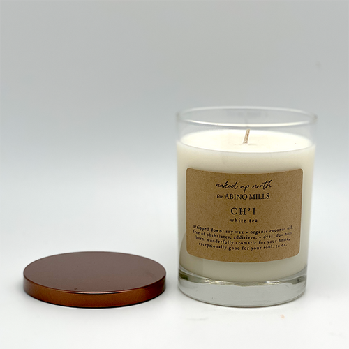 Naked Up North for Abino Mills- Ch'i Candle