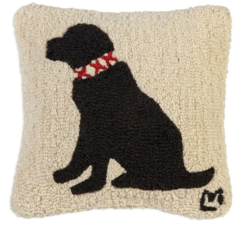 Duke Black Lab Pillow