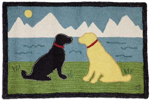 Lake Side Labs - Hooked Wool Rug
