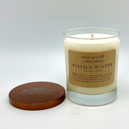 Naked Up North for Abino Mills- Buffalo Winter Candle