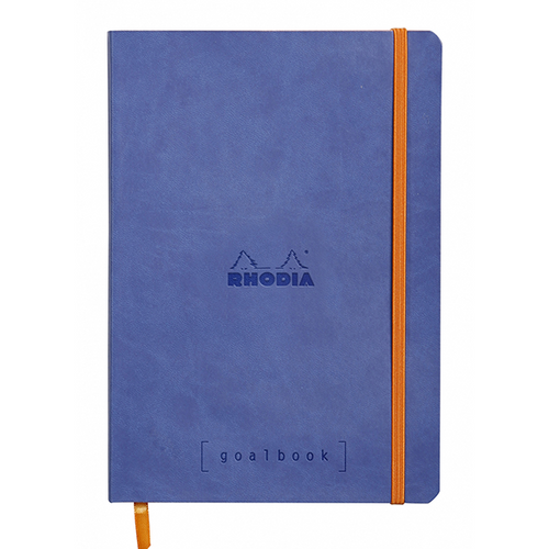 Rhodia Dot Grid Goalbook A5- Soft cover Sapphire