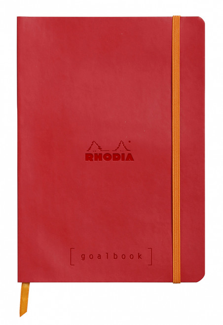 Rhodia Dot Grid Goalbook- Softcover Poppy Red