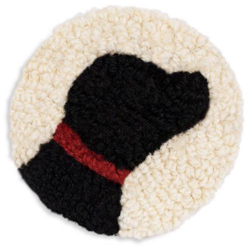 Black Lab - Wool Coasters
