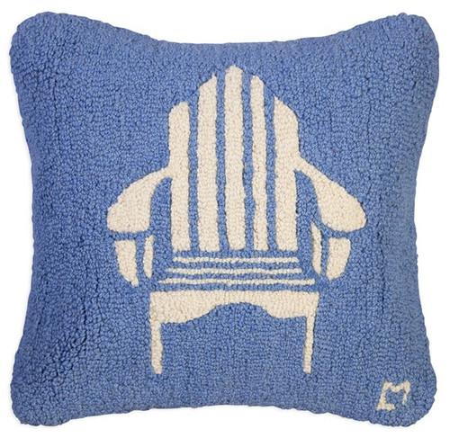Adirondack Chair - Hooked Wool Pillow
