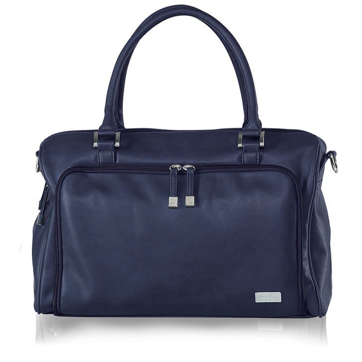 The super stylish Double Zip Satchel Changing Bag is the perfect bag for Mums who love to have a place for everything!