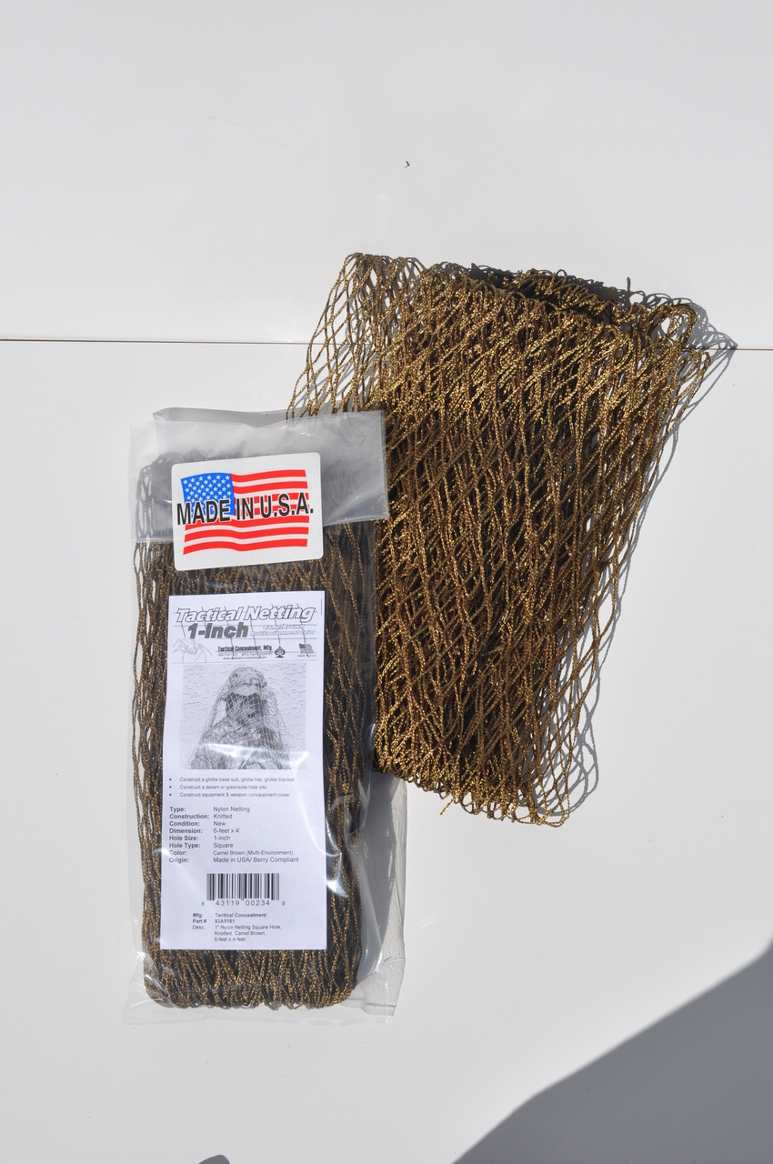 1 inch Ghillie Suit Nylon Netting