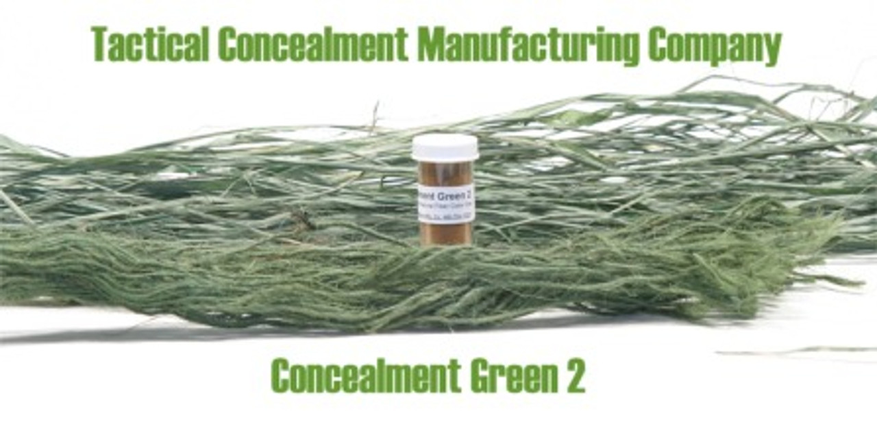 Concealment Green 2 / Industrial Color Dye (ghillie suit construction)