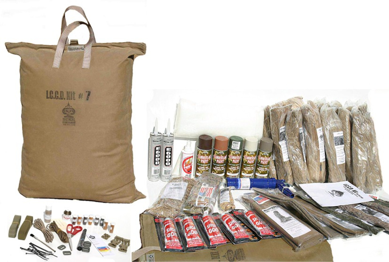 Sniper Ghilliesuit Kit # 7