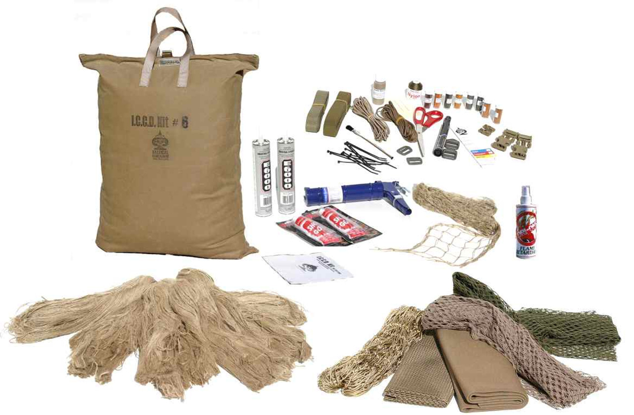 Sniper Ghillie Suit Kit #6