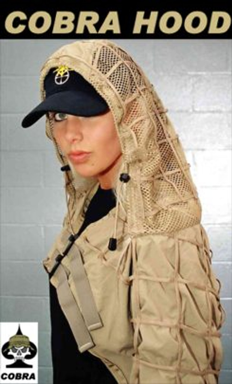 Tactical Concealment Original Cobra Hood Desert Tan
