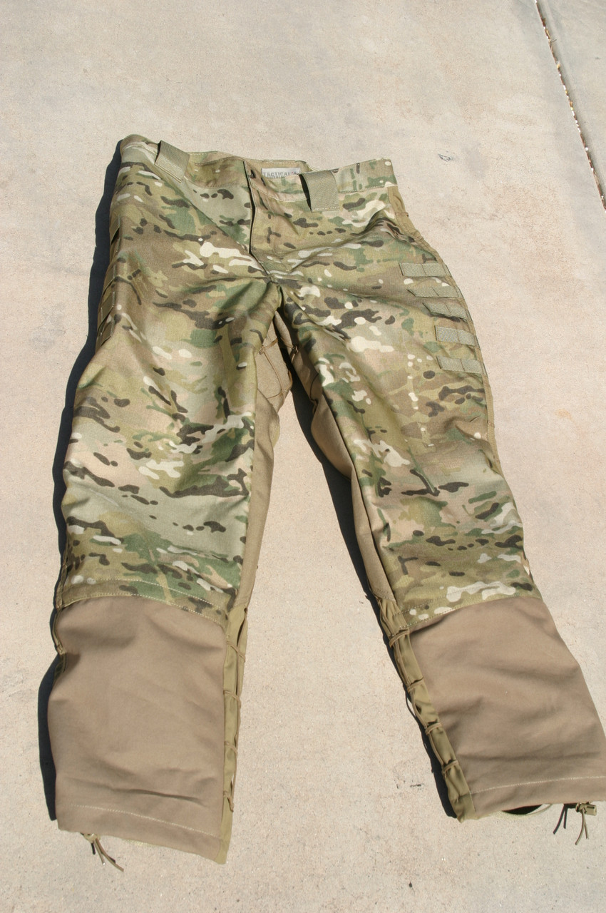 Tactical Concealment Mamba Trouser feature Rhino Duck HD leg shins, now even stronger as the Rhino Duck get covered with NYCO to match full color.