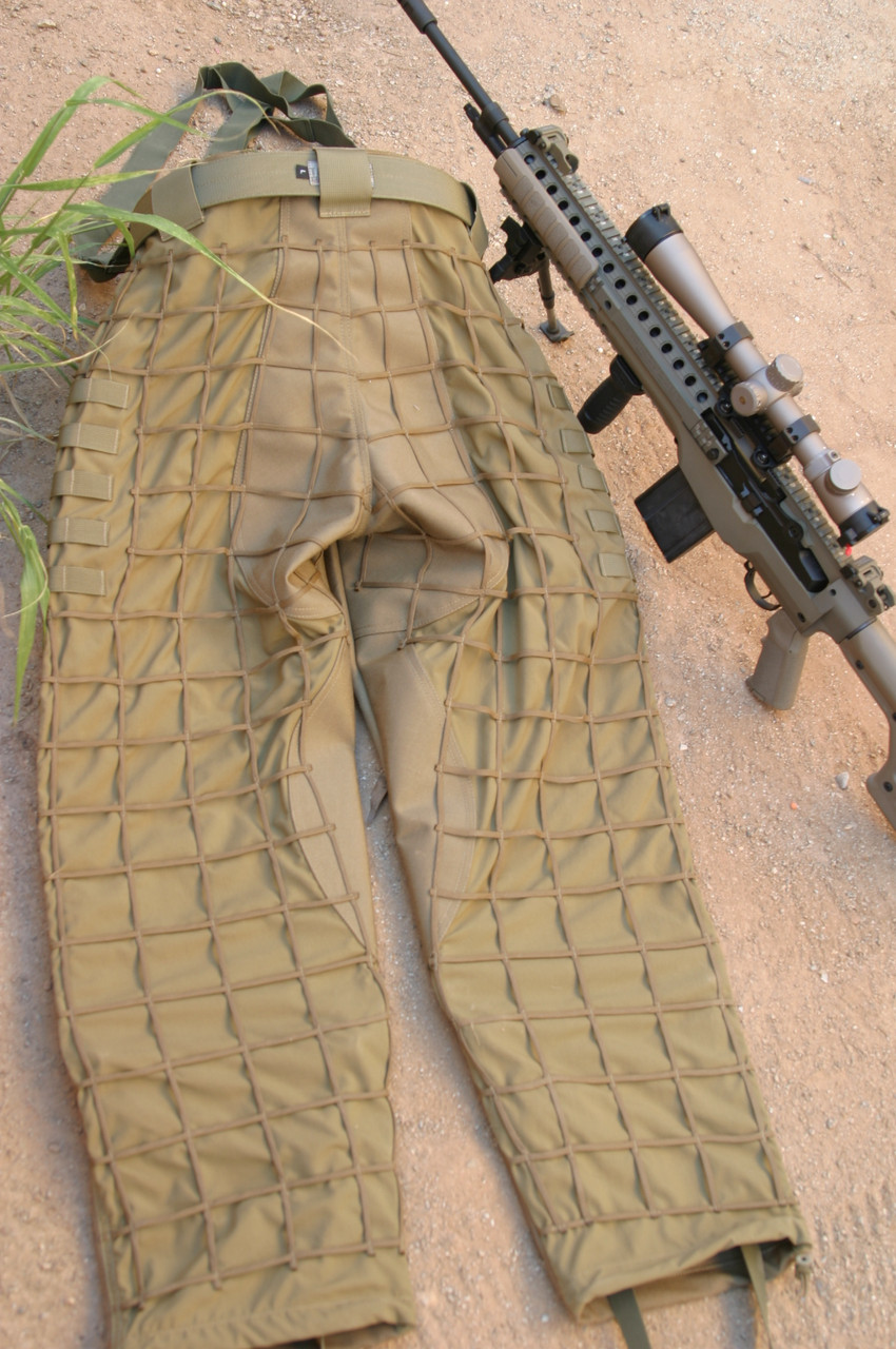 Tactical Concealment Mamba Sniper Pants.  Precision built and tough as nails.  ... belt and rifle not included.
