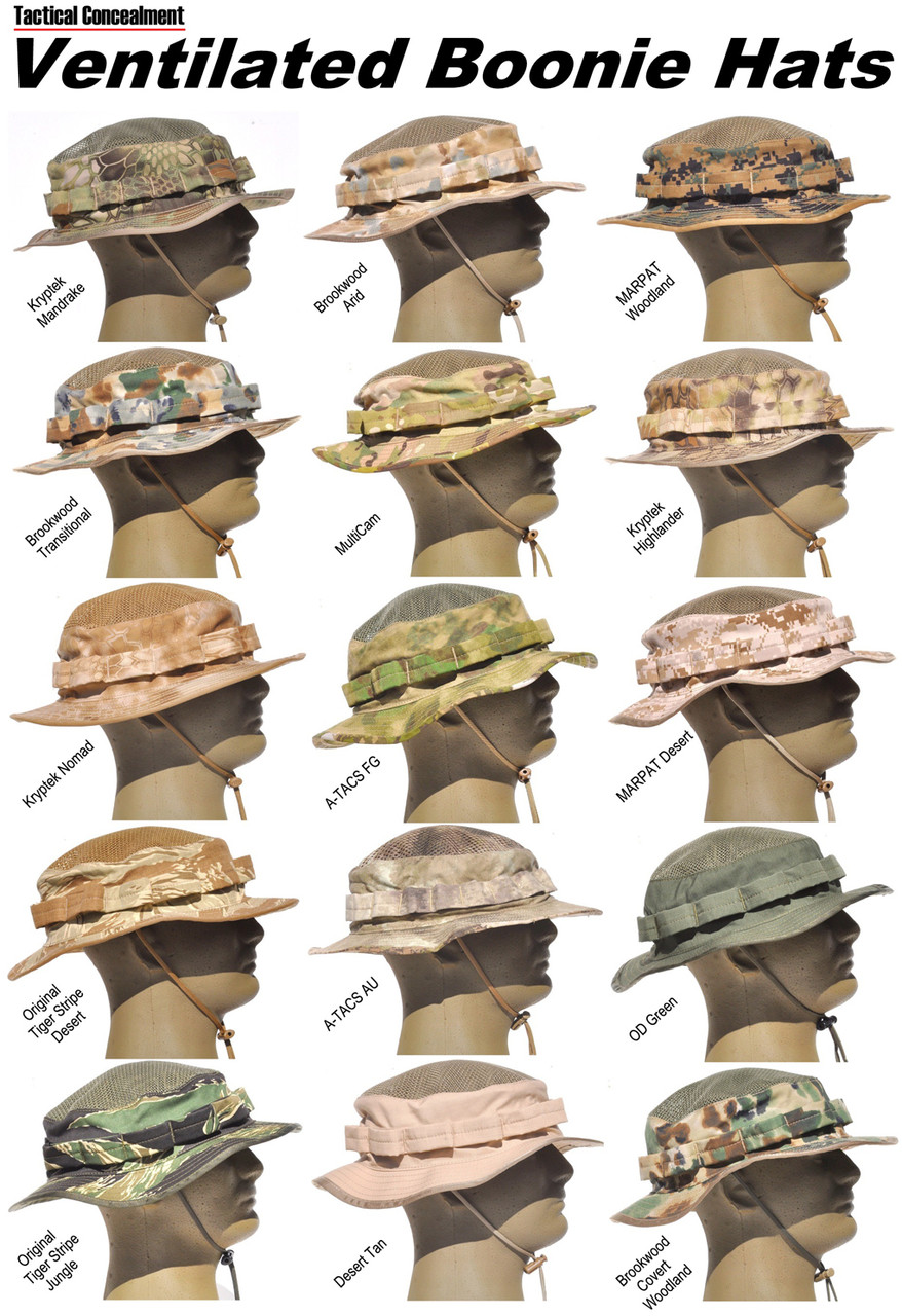 Boonie Hat - Ventilated