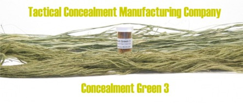 Concealment Green 3 / Industrial Color Dye (ghillie suit construction)