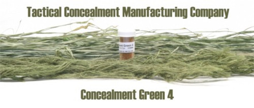 Concealment Green 4 / Industrial Color Dye (ghillie suit construction)