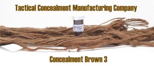 Concealment Brown 3 / Industrial Color Dye