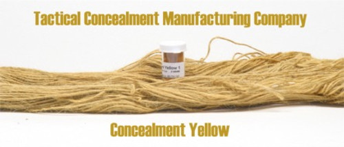 Concealment Yellow / Industrial Color Dye