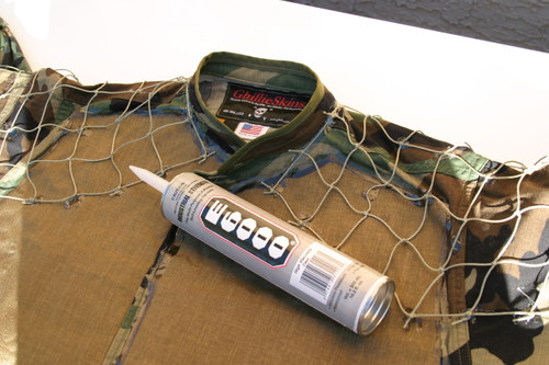 Ghillie Suit Adhesive: E6000