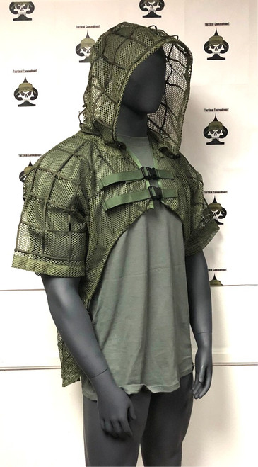 Tactical Concealment SC-2 Cobra OD Green right front side view