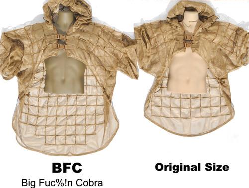 BFC Cobra compared to R.O.I.D. Original SUPER Mosquito HDAM and MCM Tactical Concealment Cobras