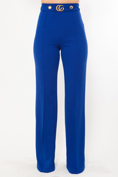 Cg Buckle And Button Detail Pants - VAL2.P10296-R.id.53475c-L