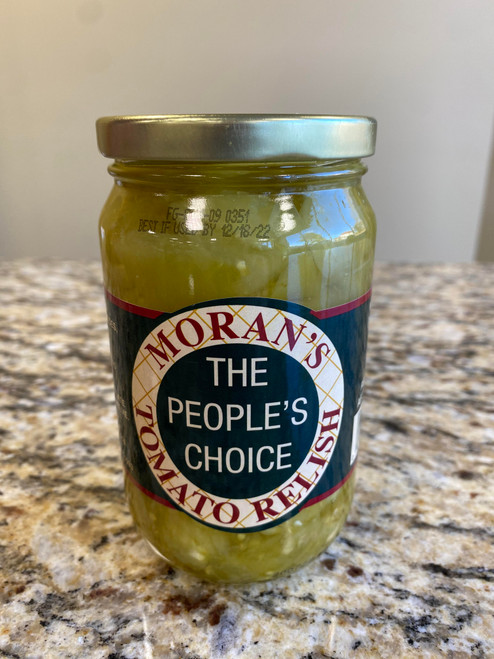 Moran's Green Tomato Relish Pint Jar