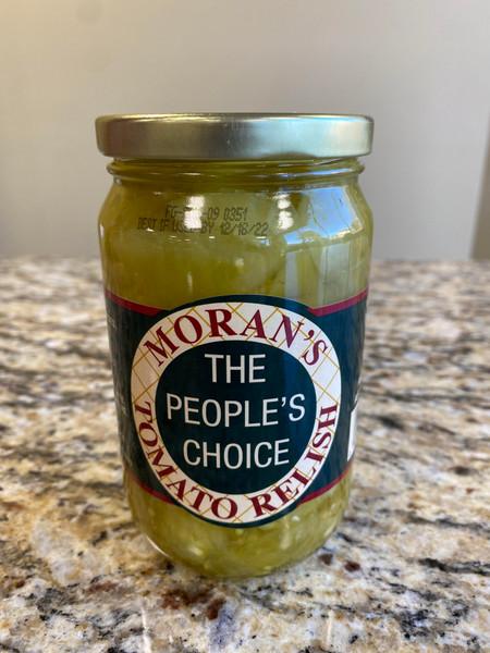Moran's Green Tomato Relish Pint Jar