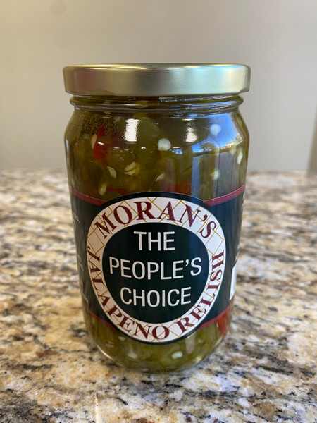 Moran's Jalapeno Relish Pint Jar